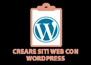 Creare siti web con Wordpress