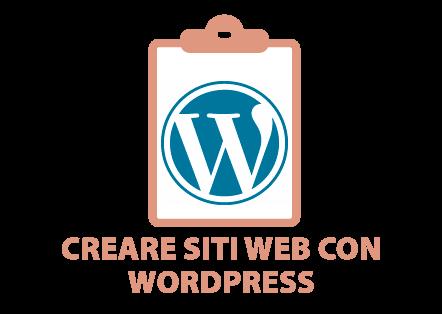 Creare siti con WordPress